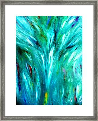 Tree Dance Framed Print by Amy Drago