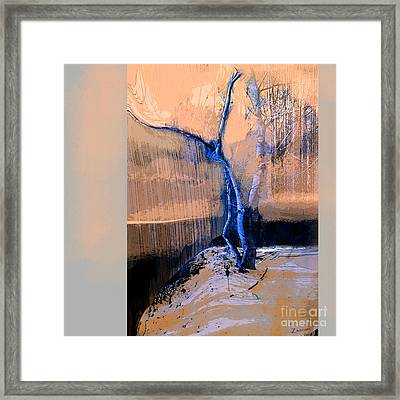 Tree Dancing On The Edge Framed Print