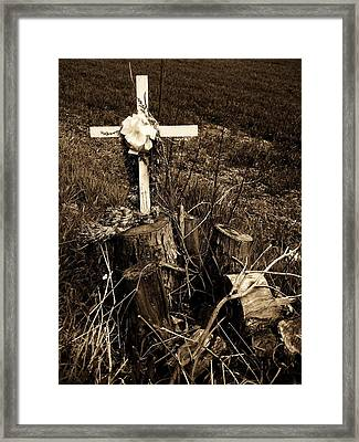 Tree De Soul Framed Print