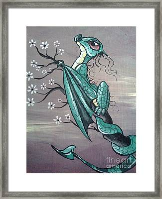 Tree Dragon II Framed Print