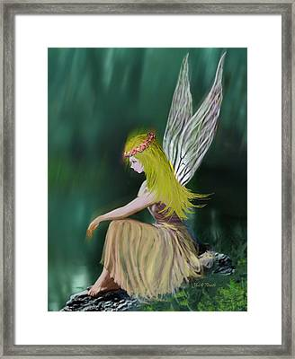 Tree Fairy Framed Print