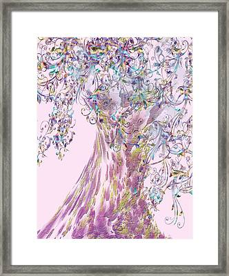 Tree Fancy Framed Print