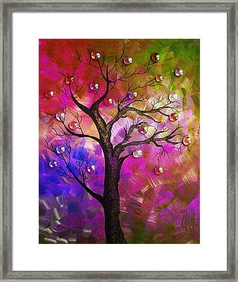Tree Fantasy2 Framed Print by Ramneek Narang