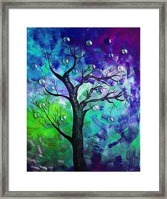Tree Fantasy3 Framed Print by Ramneek Narang