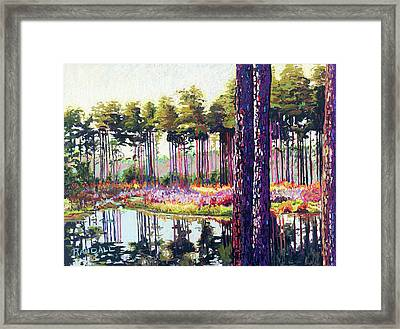 Tree Farm II Framed Print