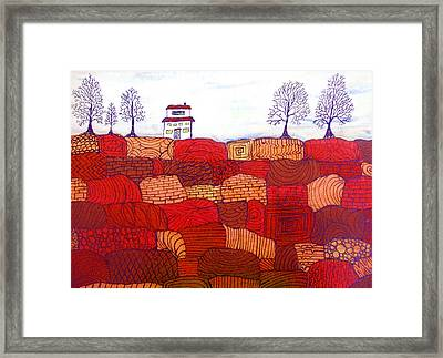 Tree Farm Framed Print