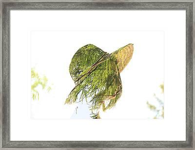 Tree Hat Framed Print