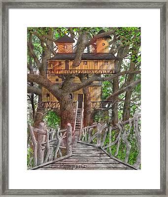Tree House #6 Framed Print by Jim Hubbard