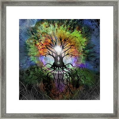 Tree Framed Print by Kd Neeley