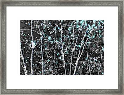 Tree Lines - 044 Framed Print