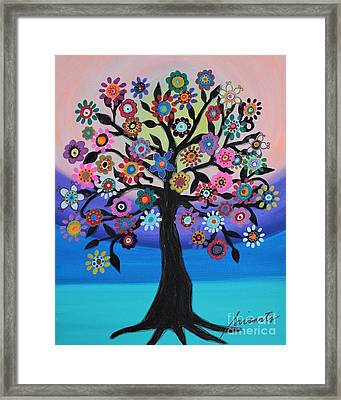 Blooming Tree Of Life Framed Print
