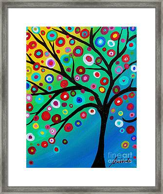 Tree Of Courage Framed Print by Pristine Cartera Turkus