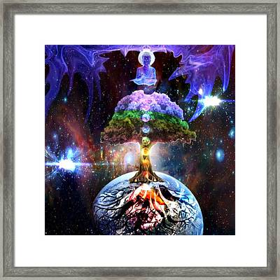 Tree Of Enlightenment Framed Print by Olivia Tatara