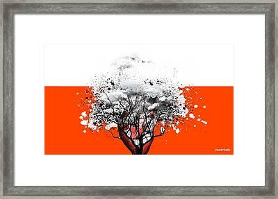 Tree Of Feelings Framed Print