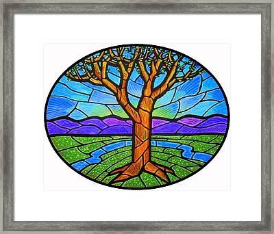 Tree Of Grace - Spring Framed Print by Jim Harris