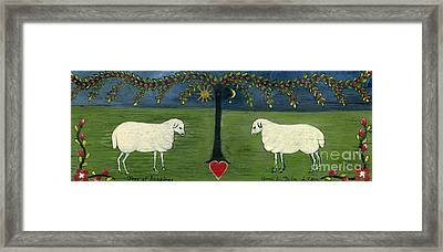 Tree Of Happiness Framed Print by Anna Folkartanna Maciejewska-Dyba