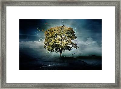 Tree Of Hope Framed Print by Mary Hood