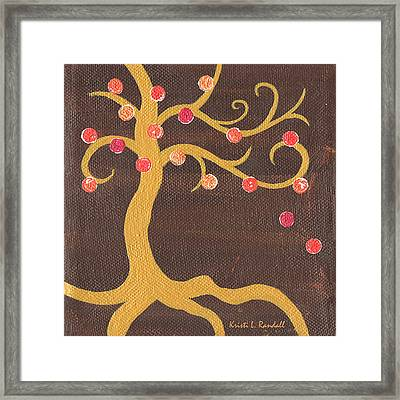 Tree Of Life - Left Framed Print by Kristi L Randall