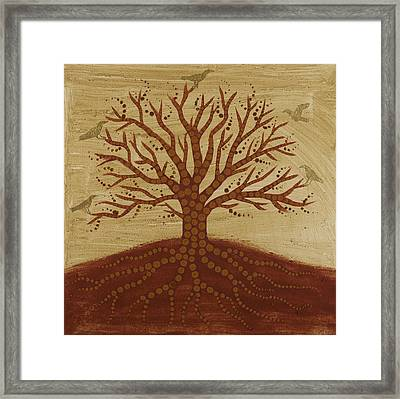 Tree Of Life 3 Framed Print by Sophy White