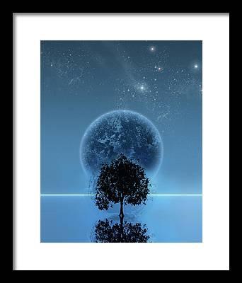 Science Fiction Digital Art Framed Prints