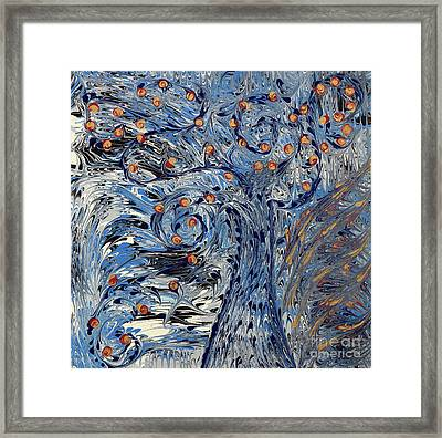 Framed Print featuring the painting Tree Of Life  by Cathy Beharriell