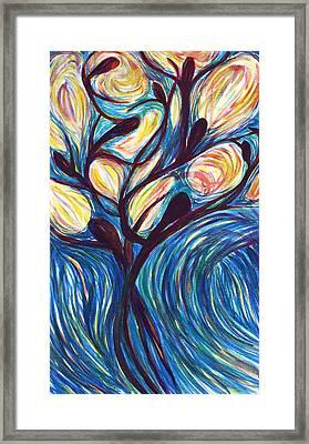 Tree Of Life Framed Print by Cory Calantropio