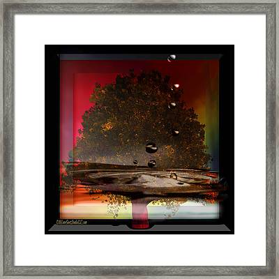 Tree Of Life Fountain Of Youth Framed Print