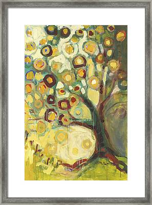 Tree Of Life In Autumn Framed Print