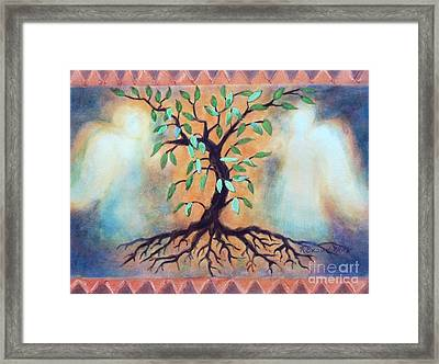 Tree Of Life Framed Print by Kathy Braud