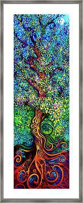 Tree Of Life Framed Print by Laura Zollar