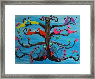 Tree Of Life Framed Print by Melanie Wadman