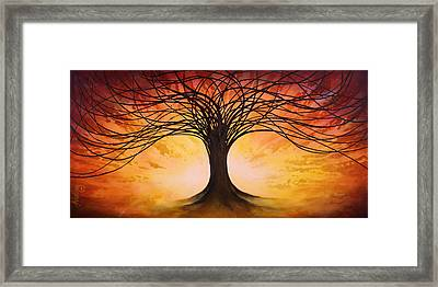 Tree Of Life Framed Print by Michael Lang