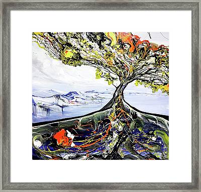 Tree Of Life Framed Print by Piero Manrique
