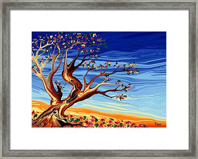 Tree Of Life Framed Print by Robin Monroe