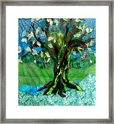 Tree Of Life Framed Print by Sarah Hornsby