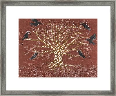 Tree Of Life Framed Print by Sophy White