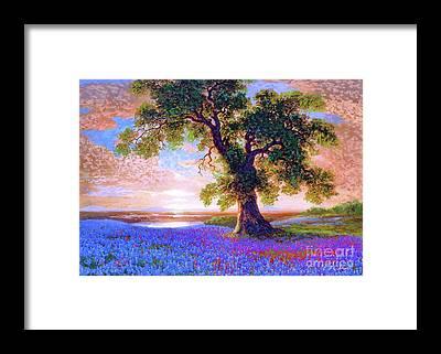 Prairie Landscape Framed Prints