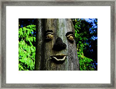 Tree People Framed Print by Craig Perry-Ollila