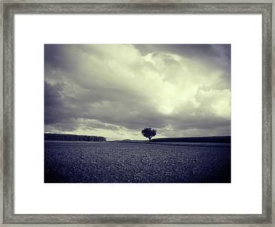 Tree Poem Framed Print