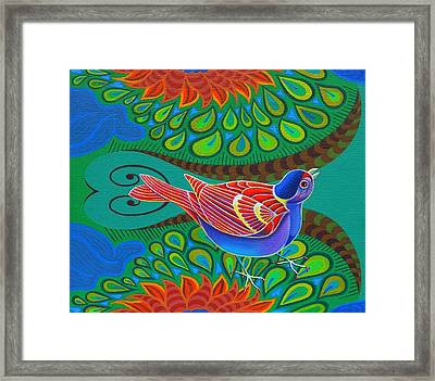 Tree Sparrow Framed Print by Jane Tattersfield