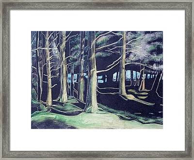 Tree Spirit Framed Print by Grace Keown