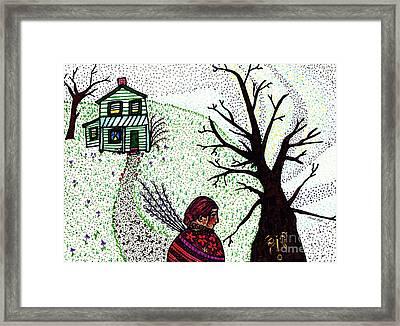 Tree Spirit Framed Print by Sarah Loft