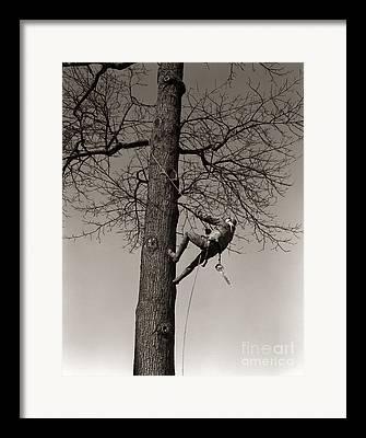 Pruning Fitness Framed Prints