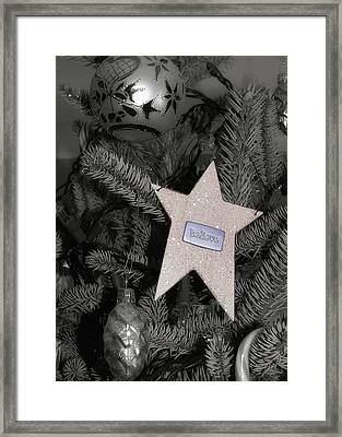 Tree Topper Framed Print by JAMART Photography