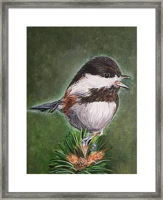 Tree Topper Framed Print