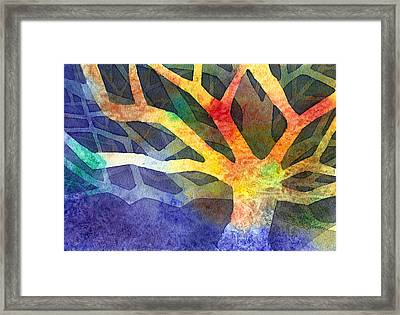 Tree Framed Print by Yevgenia Watts