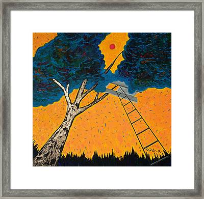 Treehouse Framed Print by Randall Weidner