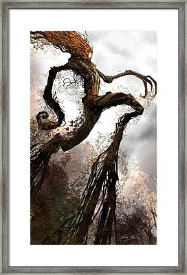Treeman Framed Print