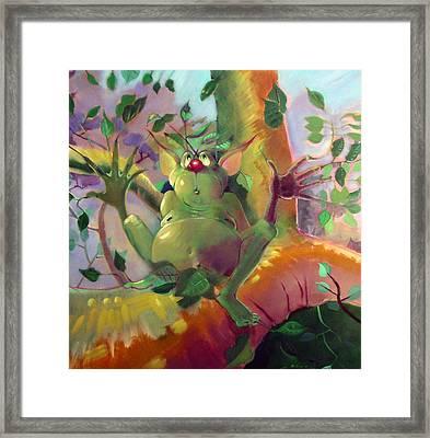 Treeman Framed Print by Patrick McClintock