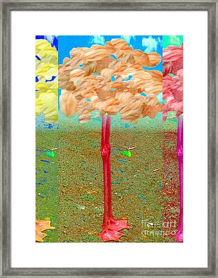 Treemingo Framed Print by Misha Bean